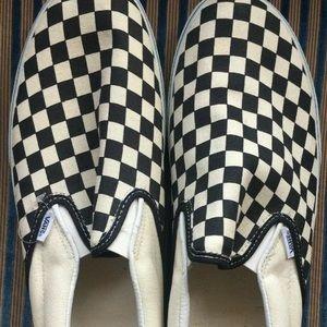 New checker vans size 15 light storage dirt